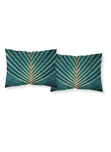 Helen George Besties Yastık Kılıfları Yeşil